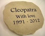 Pet Memorial for Cleopatra