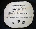 In Memory of Scarlett
